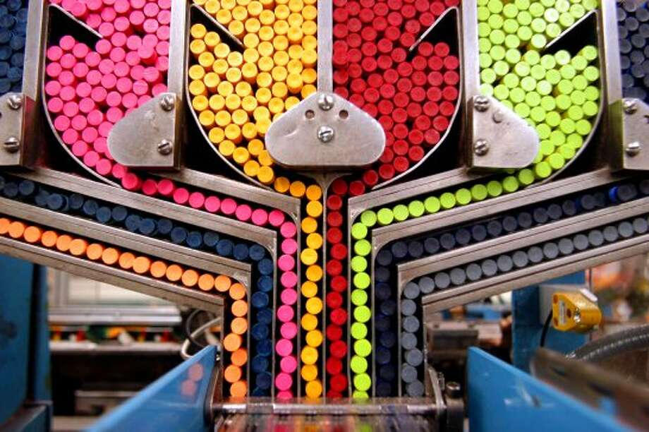 Crayons: Unknown creation date; produced by various companies. (William Thomas Cain / Getty Images)
