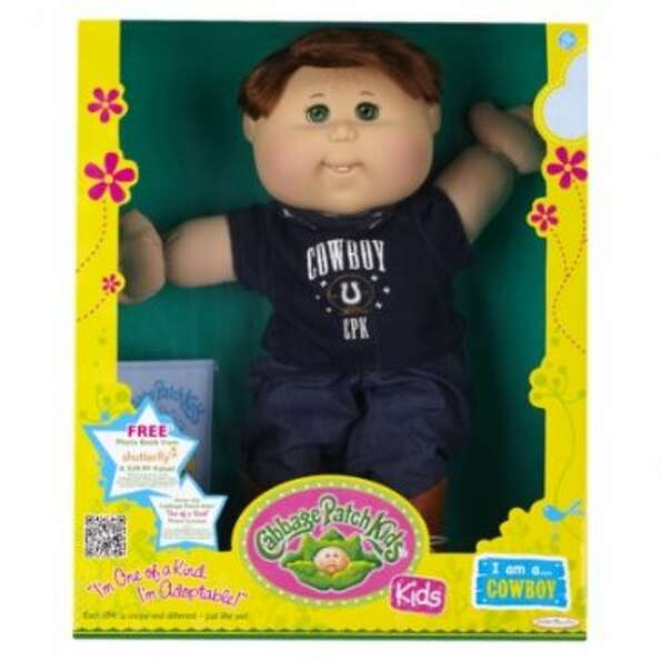 Cabbage Patch Kids: Created in 1978; produced by Original Appalachian Artworks Inc.  (Screen gr
