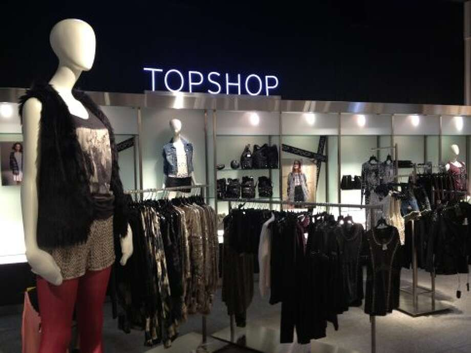 Topshop opened on the fourth floor of Nordstrom at Westfield San Francisco Centre last week.