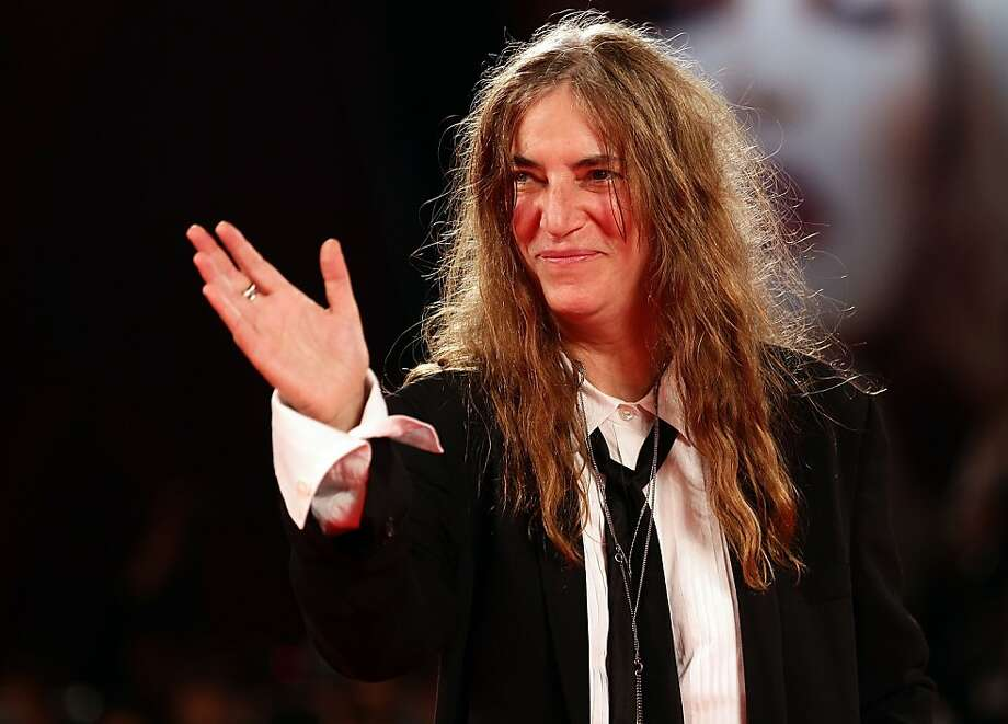 Patti Smith says she loves pleasing fans - and she'll prove it with two Bay Area appearances in October. Photo: Vittorio Zunino Celotto, Getty