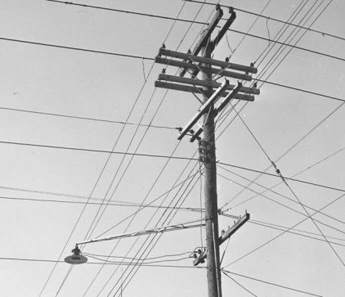 McKinney Avenue utility lines. (Post file)