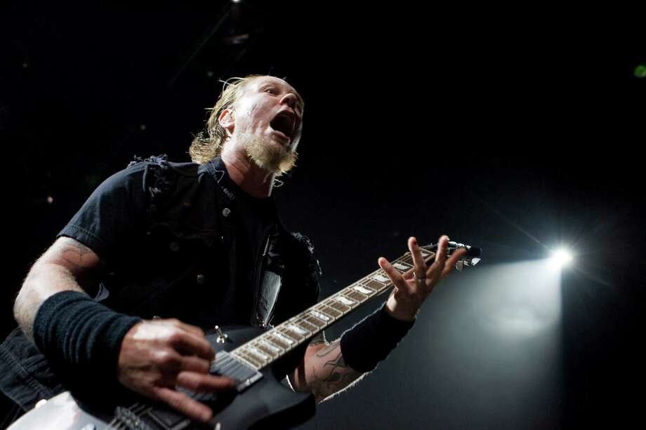 Metallica's James HetfieldNet worth:$175 million Photo: James Nielsen, Houston Chronicle / Houston Chronicle