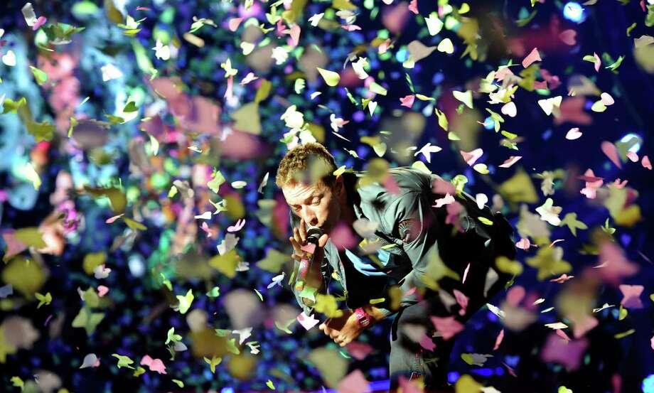 Coldplay's Chris MartinNet worth:$60 million Photo: STANISLAV ZBYNEK, Associated Press / CTK