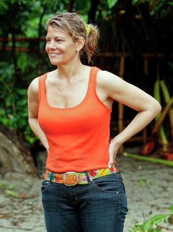 "Lisa Whelchel competes in the first episode of ""Survivor: Philippines."" The 25th installment of the series premieres tonight with a special 90-minute edition. Photo: Monty Brinton, STF / ©2012 CBS Broadcasting Inc."