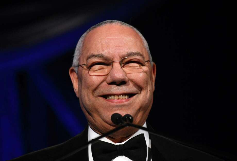 "As I've thought about gay marriage, I know a lot of friends who are individually gay but in partnership with loved ones,"" Retired Gen. Colin Powell told CNN.  ""And they are as stable a family as my family is.  And they raise children. And so I don't see any reason not to say they should be able to get married."" Photo: JEWEL SAMAD, AFP/Getty Images / 2012 AFP"