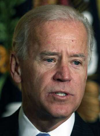 Vice President Joe Biden is among the more than two dozen celebrities and public officials targetted by an as-yet unidentified group of hackers. Photo: Win McNamee, Getty Images / 2012 Getty Images