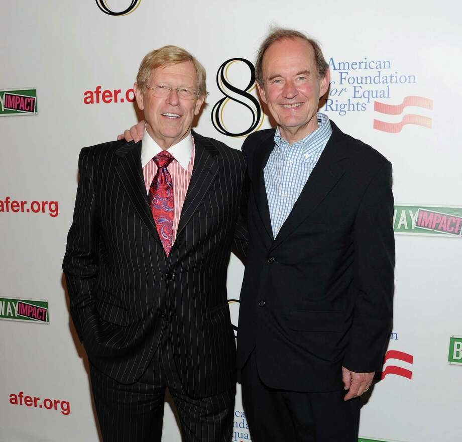 "Ex-U.S. Solicitor General Ted Olson was lead counsel for George W. Bush in 2000 election fight, the conservatives' ""go-to"" lawyer in Washington, D.C., and is now co-counsel in legal fight to overturn California's Prop. 8 – the measure that outlawed same-sex marriage.  The other co-counsel – David Boies, chief lawyer for Al Gore in Bush v. Gore. Photo: Jason Kempin, Getty Images / 2011 Getty Images"