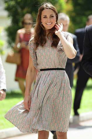 No. 2 in the world: Kate Middleton Photo: Courtesy Of ODA PR
