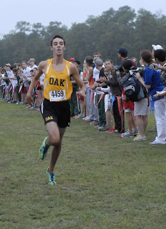 Klein Oak's Bradley Dohner heads to the Region III meet as the District 13-5A individual boys champion. Photo:  Tony Bullard 2012, Freelance Photographer / © Tony Bullard & the Houston Chronicle