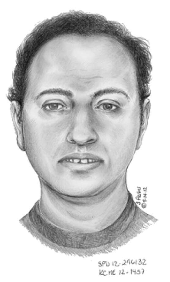 Authorities are asking the public for help in identifying this man, who was found dead in the water near the Arboretum on Sept. 3. The sketch was produced by the Seattle Police Department and may not be an exact likeness of the man, whose body had been in the water for possibly several weeks. (Photo courtesy Public Health - Seattle & King County).