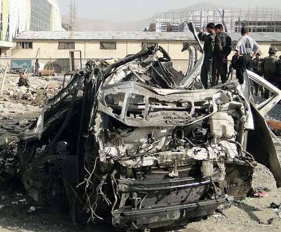 The suicide bombing of a minibus near the Kabul airport killed eight South Africans and a Kyrgyzstani, their Afghan driver and two Afghan bystanders. Photo: Ali Safi, McClatchy-Tribune News Service