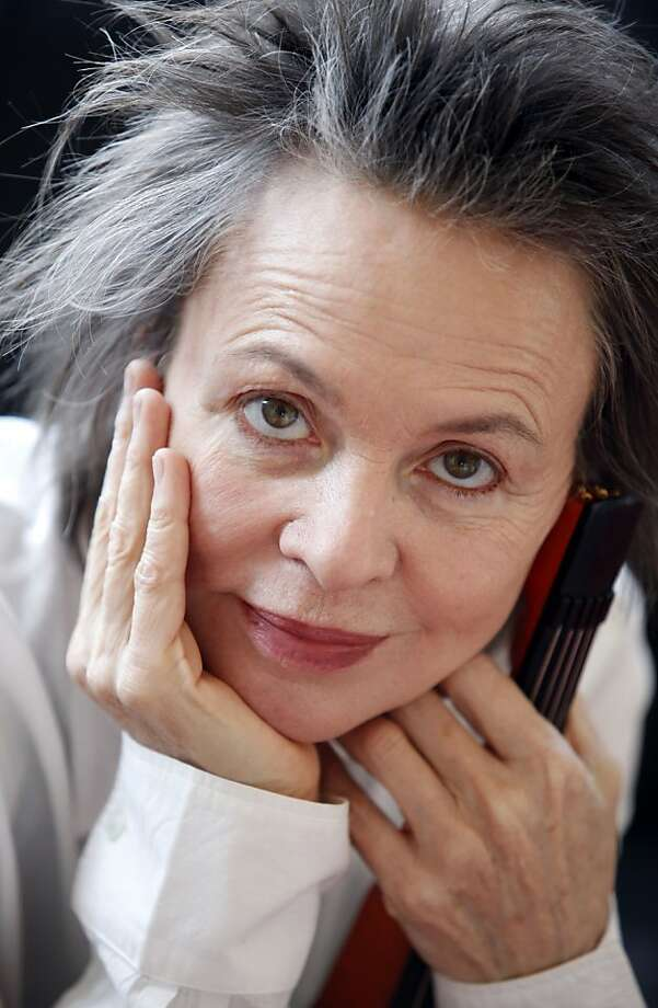 "Laurie Anderson's ""Dirtday!"" is hilarious and provocative. Photo: Lucie Jansch"