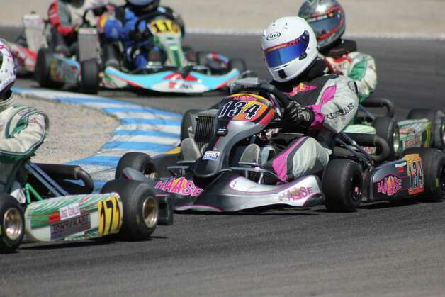 Ben Albano drives kart 134 at Palm Beach International Raceway during the 2011 Florida Winter Tour. Photo: Contributed Photo