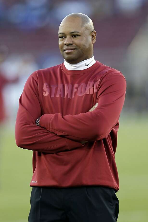 Stanford head coach David Shaw during an NCAA college football game against Duke in Stanford, Calif., Saturday, Sept.  8,  2012. (AP Photo/Marcio Jose Sanchez) Photo: Marcio Jose Sanchez, Associated Press