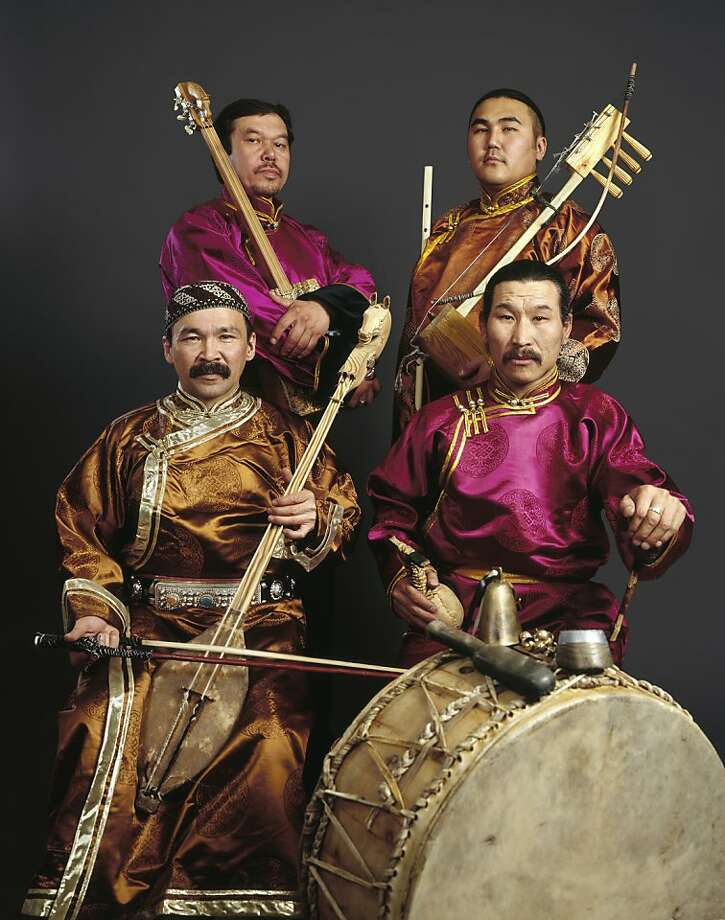 Huun Huur Tu plays the Great American Music Hall on Friday. Photo: Courtesy GAMH