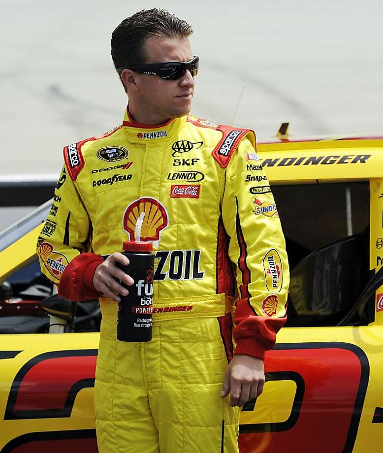 AJ Allmendinger, a Los Gatos native, was suspended after failing a drug test following a June 30 race. He said he took Adderall. Photo: Nick Wass, Associated Press