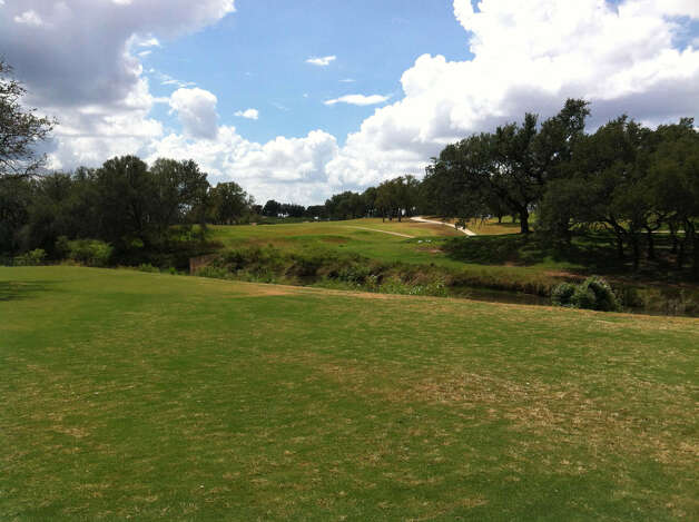 Lady Bird Johnson Golf Course, with a view of the ninth hole, will reopen next week after nearly $2 million in upgrades. Photo: Richard Oliver, San Antonio Express-News