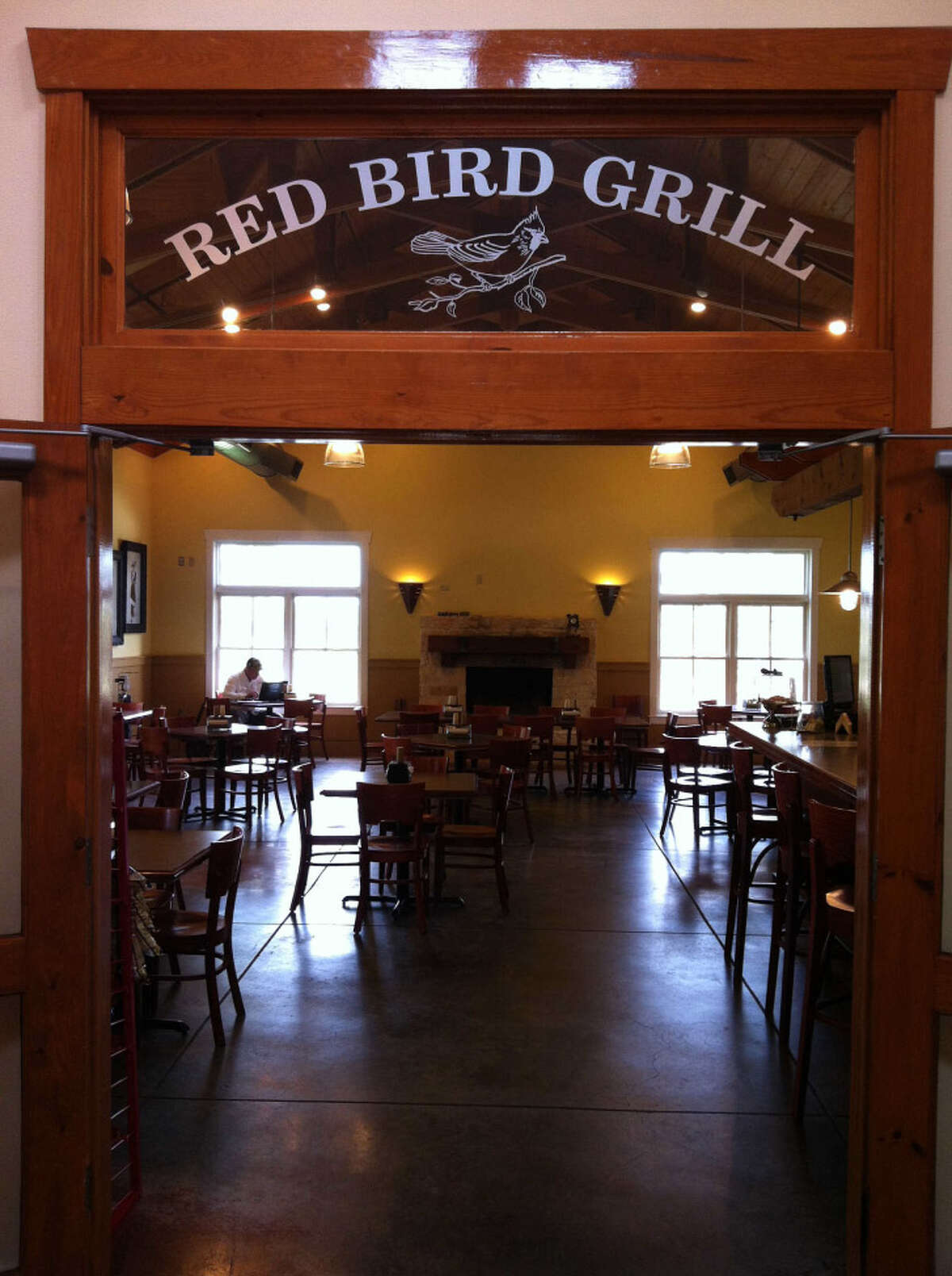 The Red Bird Grill was part of the clubhouse renovations at Lady Bird Johnson Golf Course.