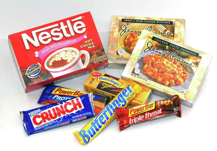 Nestlé USA, the company behind these products, argues that the business tax is unconstitutional. Photo: MARK ELIAS, BLOOMBERG NEWS / Bloomberg News