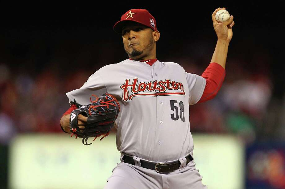Sept. 18: Cardinals 4, Astros 1Fernando Abad and the Astros reached triple digits in losses.Record: 48-100. Photo: Dilip Vishwanat / 2012 Getty Images
