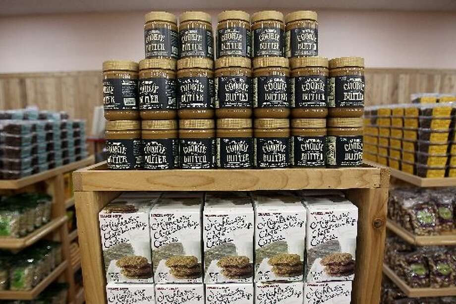And Joe's Cookie Butter is another distinctive favorite made from crushed gingerbread-flavored biscuits.