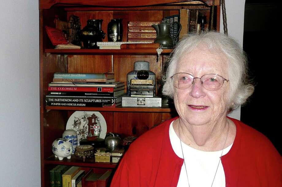 Joyce French, 82, speaks to Seniority. Photo: Anne W. Semmes