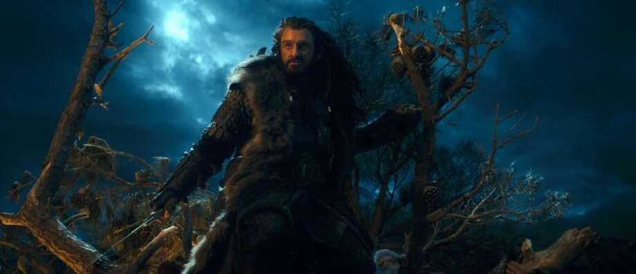 "RICHARD ARMITAGE as Thorin Oakenshield in New Line Cinema's and MGM's fantasy adventure ""THE HOBBIT: AN UNEXPECTED JOURNEY,"" a Warner Bros. Pictures release. ((c) 2012 Warner Bros. Entertainment Inc. and Metro-Goldwyn-Mayer Pictures Inc.)"