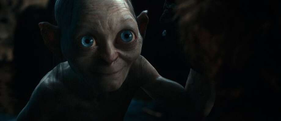"Gollum, voiced by ANDY SERKIS in New Line Cinema's and MGM's fantasy adventure ""THE HOBBIT: AN UNEXPECTED JOURNEY,"" a Warner Bros. Pictures release. ((c) 2012 Warner Bros. Entertainment Inc. and Metro-Goldwyn-Mayer Pictures Inc.)"