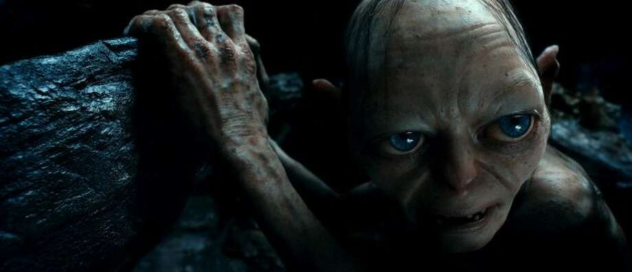 "Gollum voiced by ANDY SERKIS in New Line Cinema's and MGM's fantasy adventure ""THE HOBBIT: AN UNEXPECTED JOURNEY,"" a Warner Bros. Pictures release. (© 2012 Warner Bros. Entertainment Inc. and Metro-Goldwyn-Mayer Pictures inc.)"