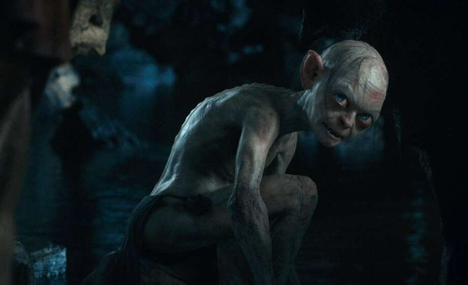"Gollum voiced by ANDY SERKIS in New Line Cinema's and MGM's fantasy adventure ""THE HOBBIT: AN UNEXPECTED JOURNEY,"" a Warner Bros. Pictures release. ((C) 2012 WARNER BROS. ENTERTAINMENT INC. AND METRO-GOLDWYN-MAYER PICTURES INC.)"