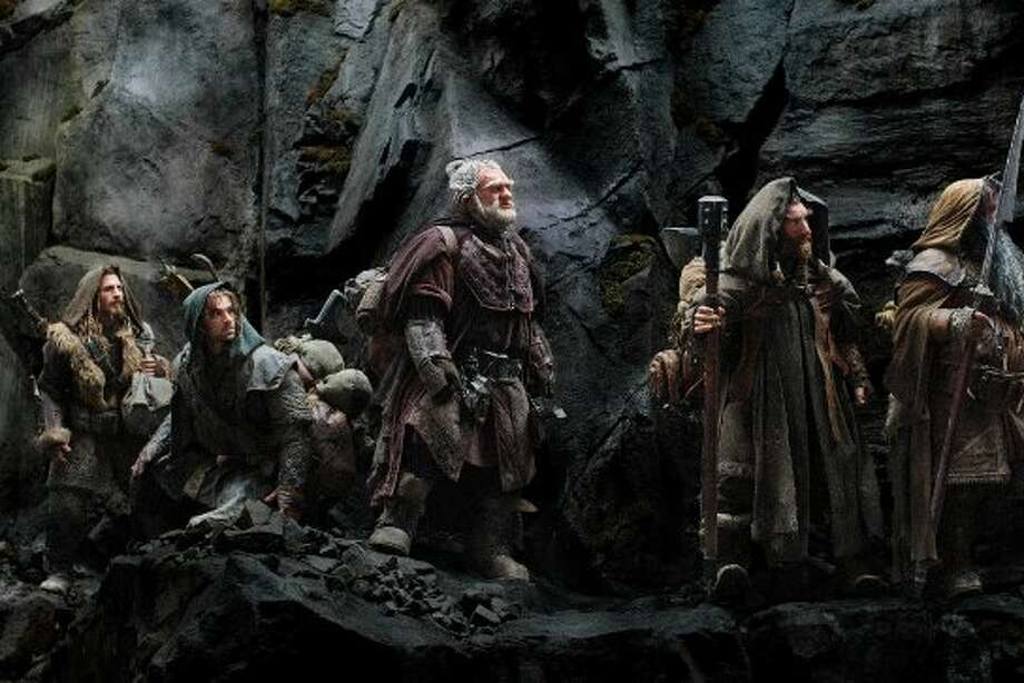 "(L-r) DEAN O'GORMAN as Fili, AIDAN TURNER as Kili, Mark Hadlow as Dori, Jed Brophy as Nori and WILLIAM KIRCHER as Bifur in New Line Cinema's and MGM's fantasy adventure ""THE HOBBIT: AN UNEXPECTED JOURNEY,"" a Warner Bros. Pictures release. (©2012 Warner Bros. Entertainment Inc. and Metro-Goldwyn-Mayer Pictures, Inc.  (This is to be used for New Line Territory)© Metro-Goldwyn-Mayer Pictures, Inc and 2012 Warner Bros. Entertainment Inc. (This is to be used for MGM Territory))"