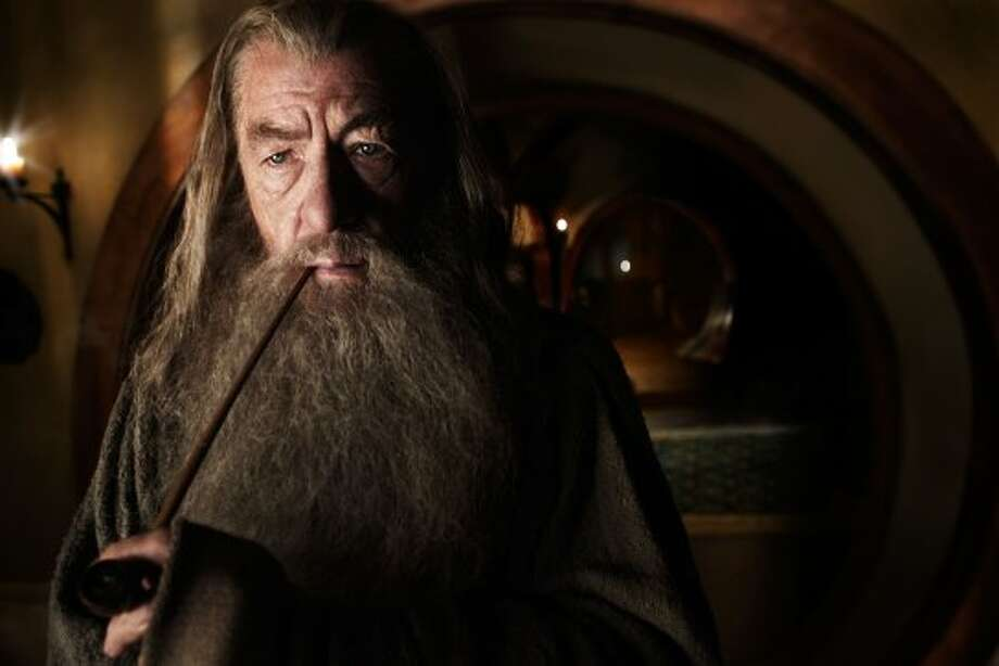 "IAN McKELLEN as Gandalf in New Line Cinema's and MGM's fantasy adventure ""THE HOBBIT: AN UNEXPECTED JOURNEY,"" a Warner Bros. Pictures release. (©2011 New Line Productions, Inc.)"