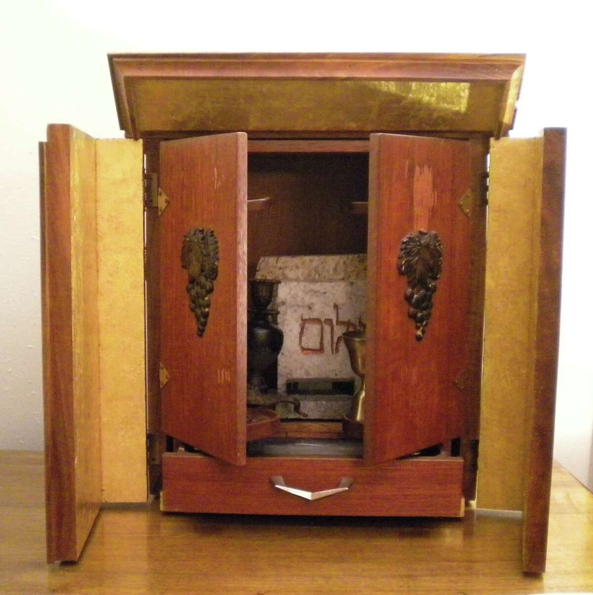 """The """"dibbuk haunted"""" wine cabinet that inspired the movie """"Possession."""""""