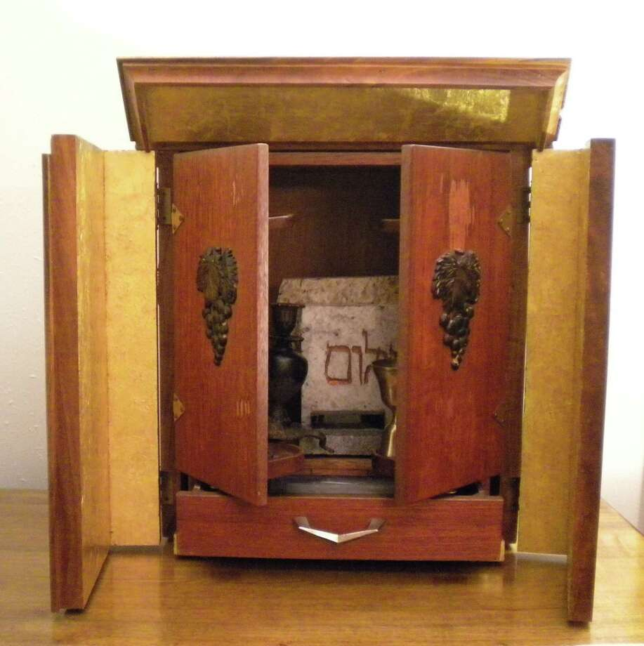 "The ""dibbuk haunted"" wine cabinet that inspired the movie ""Possession."" Photo: Courtesy Jason Haxton"
