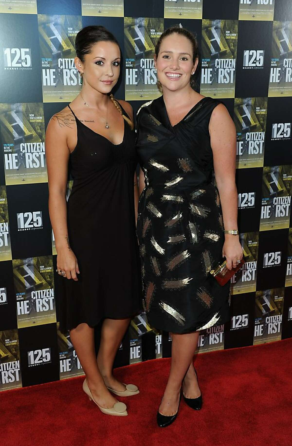 Emma Hearst and Gillian Hearst attend Hearst's 125th anniversary celebration and private screening of the new documentary