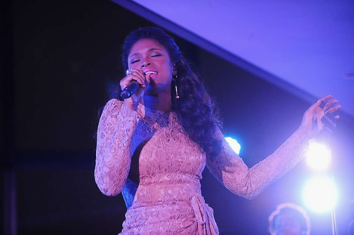 Jennifer Hudson performs at Hearst's 125th anniversary celebration and private screening of the new documentary