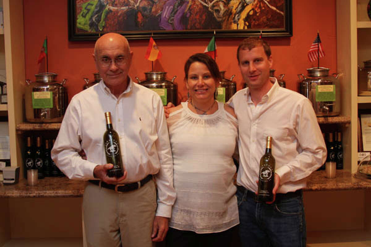 Family-run Saratoga Olive Oil encourages customers to taste their many varieties, which co-owner Barbara Braidwood compares to wine tasting. Read the full story, and view a video on olive oil tasting, here.