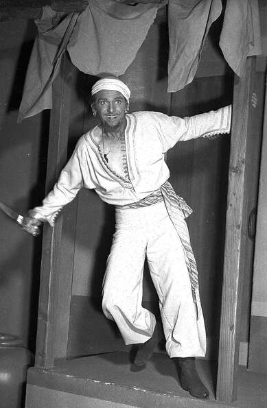 Douglas Fairbanks Jr., portrays Sinbad the Sailor in this Feb. 20, 1946 file photo. The 1947 comedy