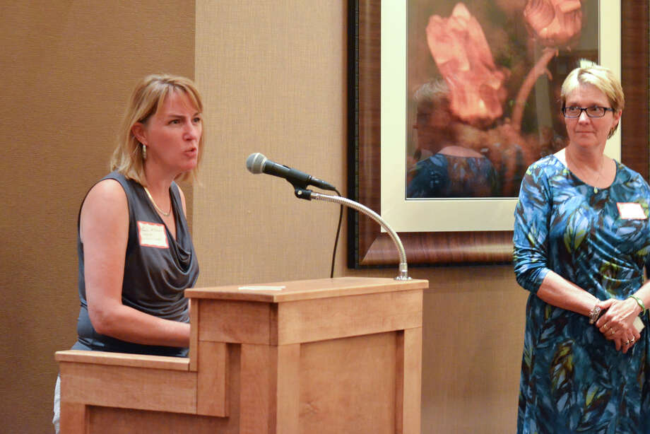 Were you Seen at the Women@Work 'Going Up?' event at Angelo's Prime Bar & Grill in Clifton Park on Tuesday, Sept. 18, 2012? Photo: Colleen Ingerto