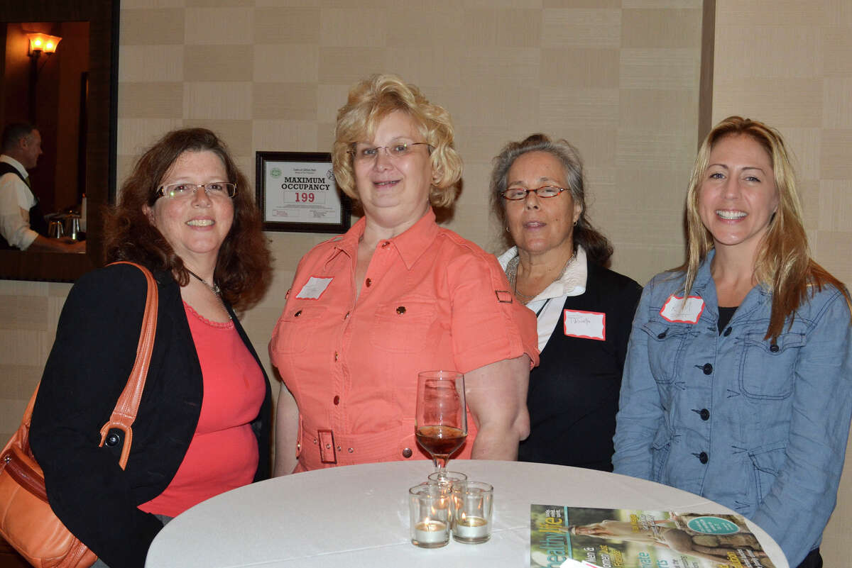 Were you Seen at the Women@Work 'Going Up?' event at Angelo's Prime Bar & Grill in Clifton Park on Tuesday, Sept. 18, 2012?