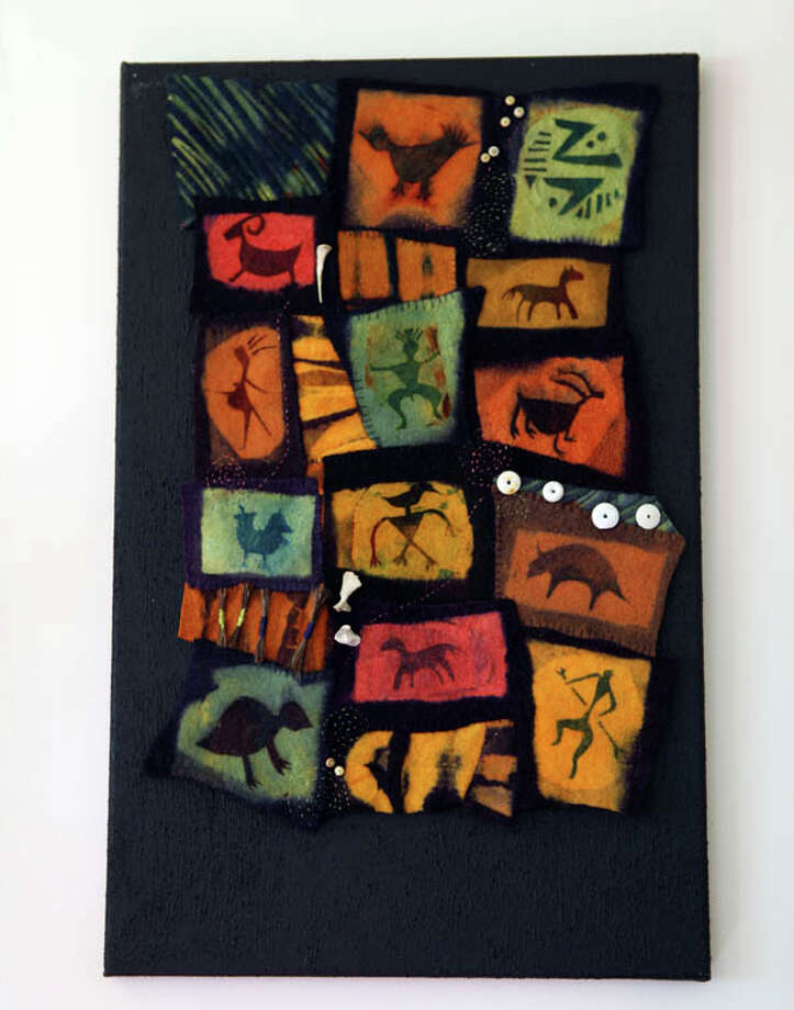 Felt objects take on unique personalities in the artistry of Linda Van Alstyne, a self-taught fabric sculptor who loves to experiment — and who loves color. Read the story here. Photo: Krishna Hill/Life@Home