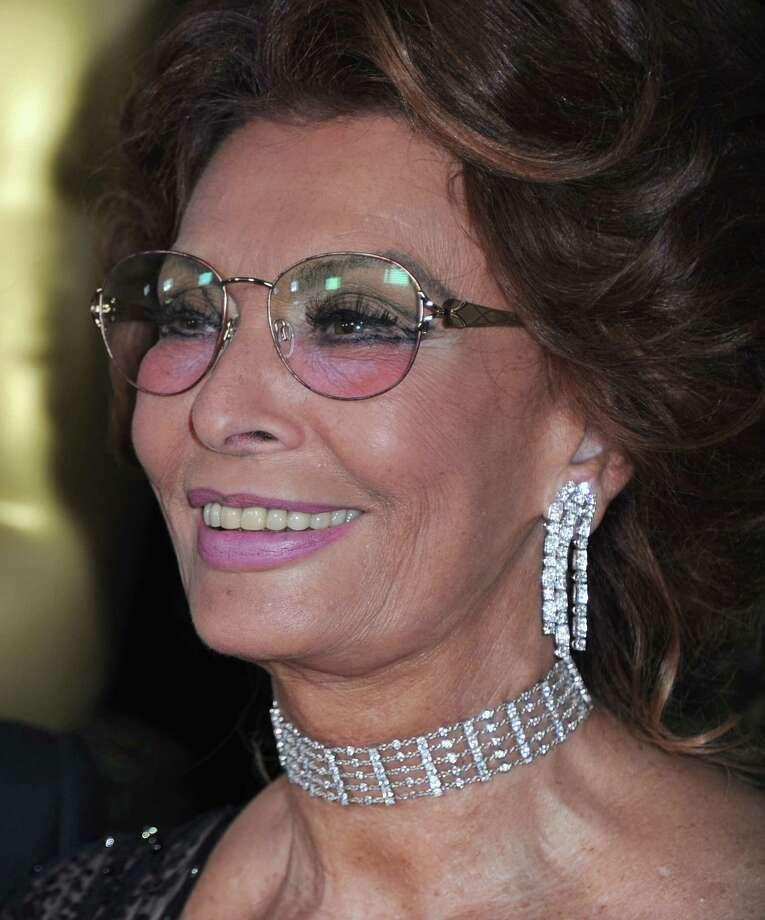 Sophia Loren Photo: Alberto E. Rodriguez / 2011 Getty Images