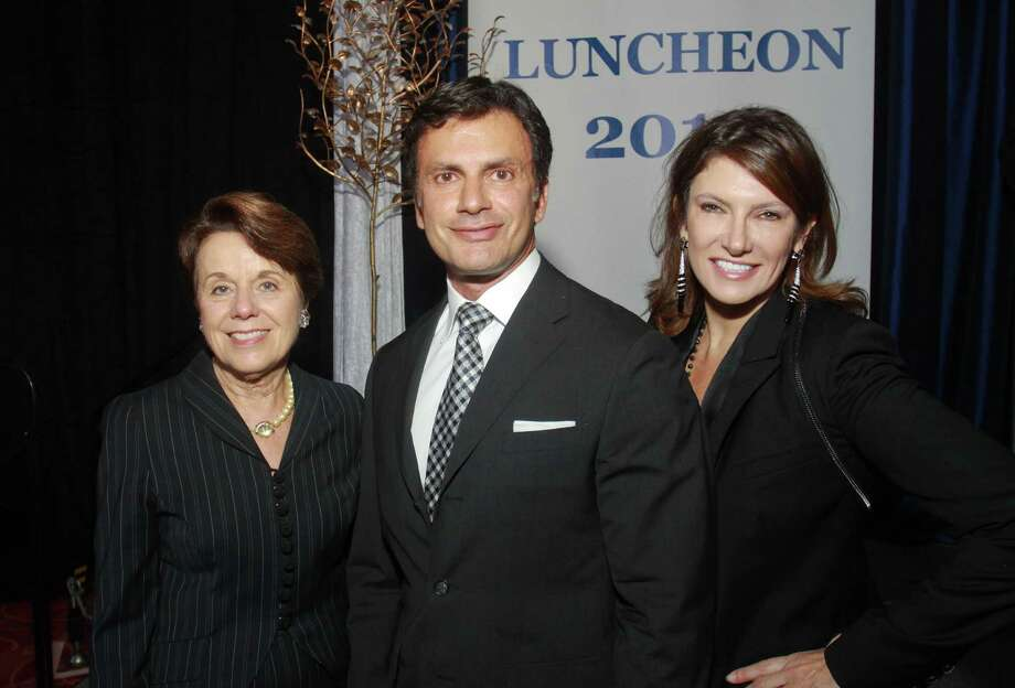 Ginni Mithoff, from left, Monsour Taghdisi and Rosemarie Johnson Photo: Gary Fountain / Copyright 2012 Gary Fountain.