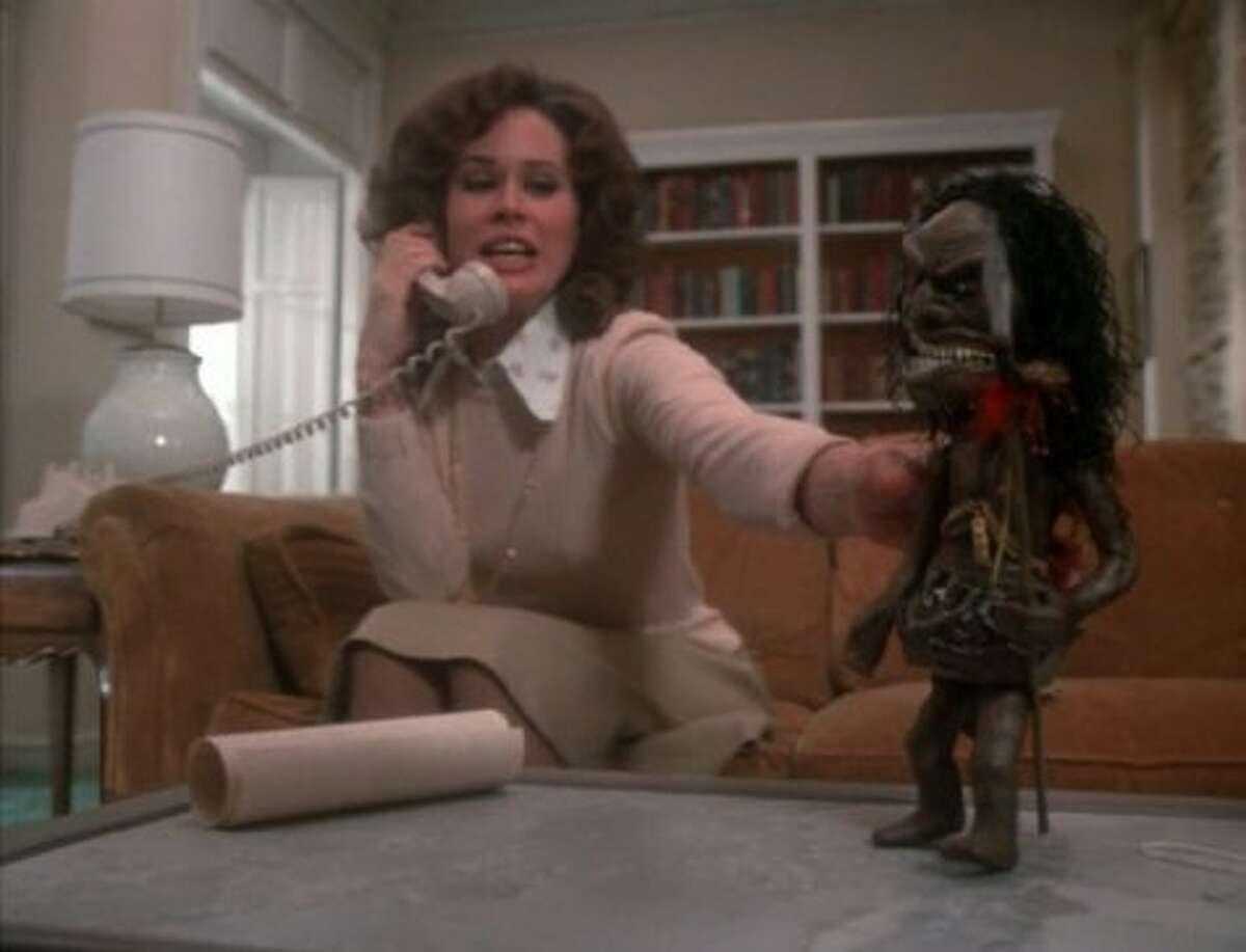 THAT TRILOGY OF TERROR DOLL. Ask Karen Black. Still creeps me out.