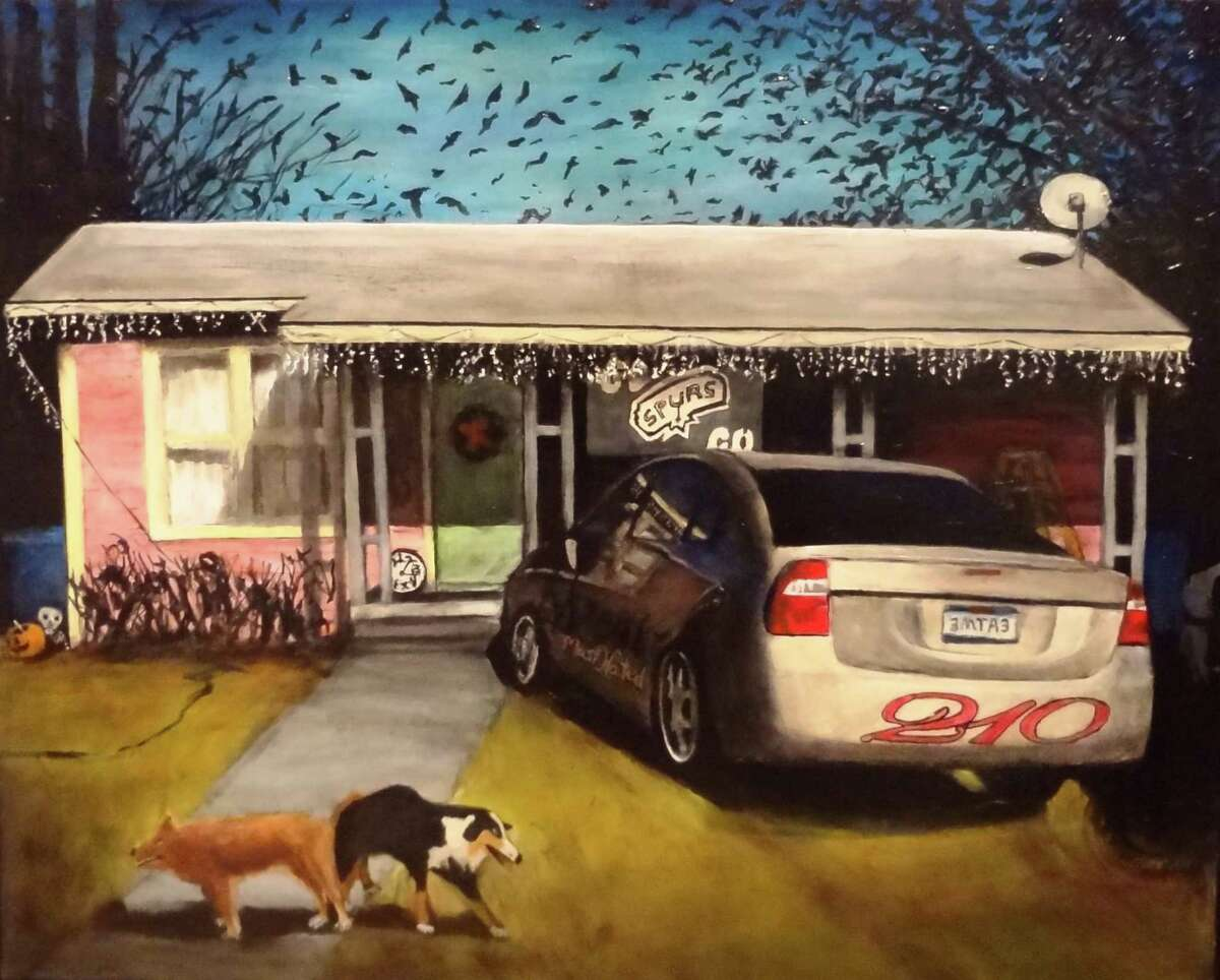 """Works by San Antonio artist Ana Fernandez are featured in """"San Antonio Painters II"""" at the Blue Star Contemporary Art Center."""