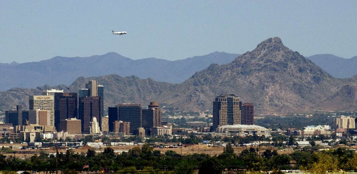 A recent study by Sperling's BestPlaces ranked the 50 hottest metropolitan areas in the country. Here are the top 10.1. Phoenix-Mesa-Scottsdale, AZ Heat index: 97.7