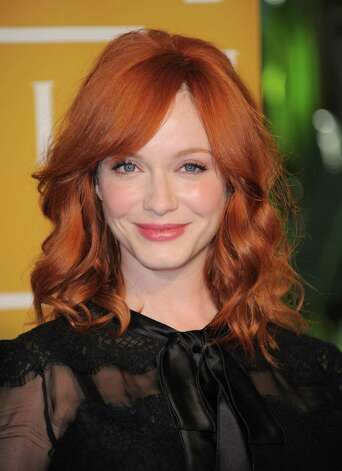 """Mad Men's"" Christina Hendricks liked ""M*A*S*H"" and ""Northern Exposure.""  Photo: File Photo, Associated Press / Invision"