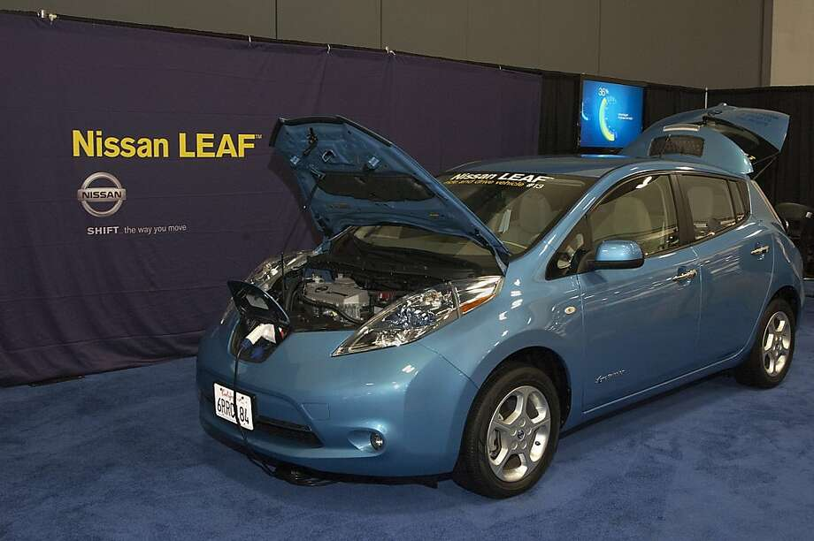 Nissan Leaf 2012 at San Francisco Auto Show 2011. Photo: Stephen Finerty
