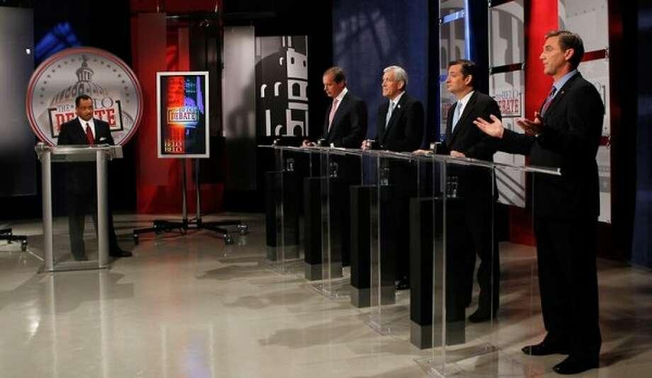 Senate contenders debate. (Texas Tribune)