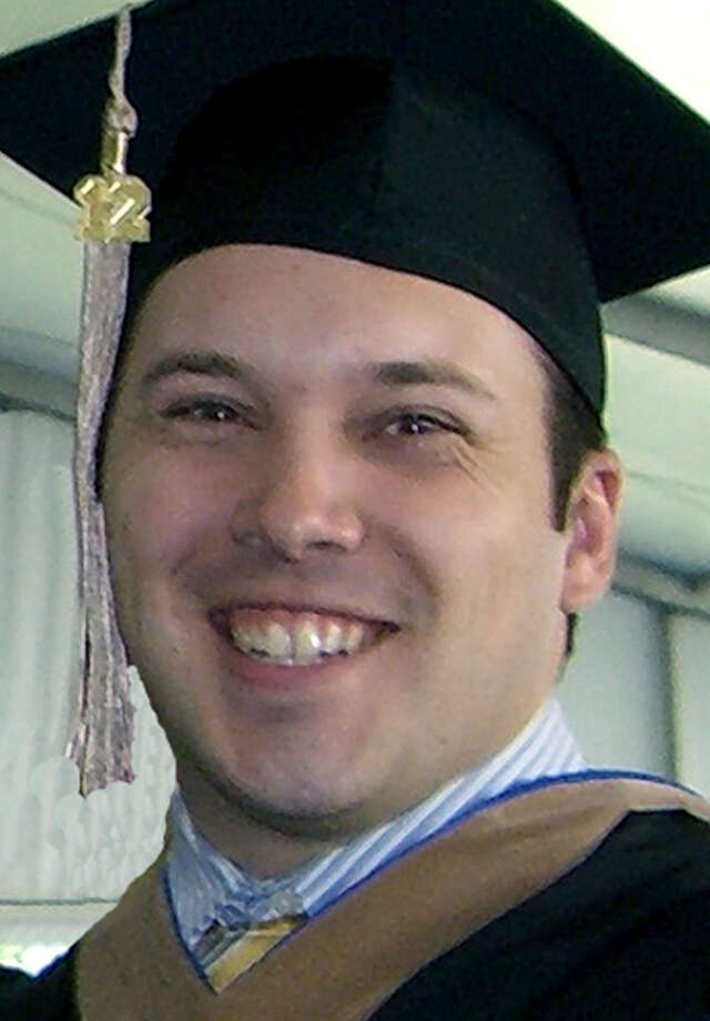 Adam Bessel of Sherman graduated in May 2012 from Bentley University in Boston. 2012 Photo: Contributed Photo